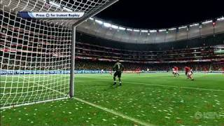 2010 FIFA World Cup South Africa Xbox 360 Gameplay - USA