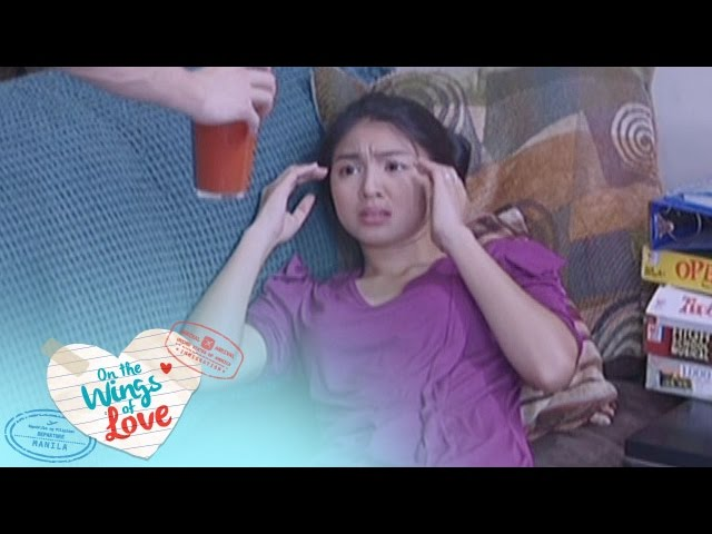On The Wings Of Love: Leah shows concern for Clark