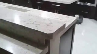 Luxury Concrete Countertops by Nelson Construction and Renovations