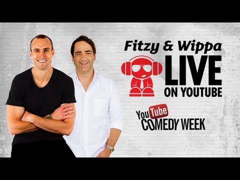 Fitzy and Wippa live for YouTube Comedy Week