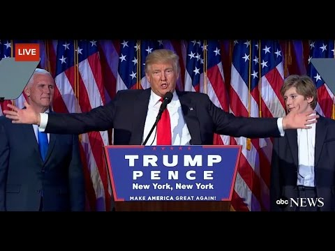 Donald Trump Wins US Presidential Election