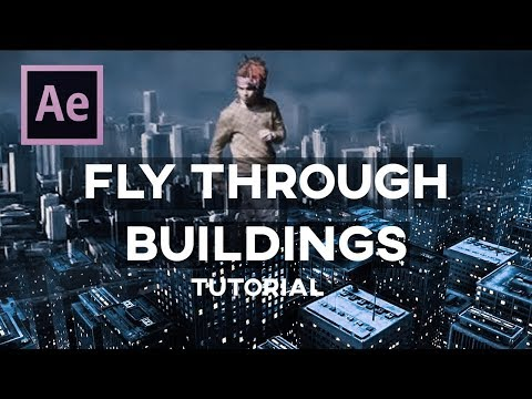 Create Cities + Fly Through Buildings Tutorial! (Adobe After Effects)
