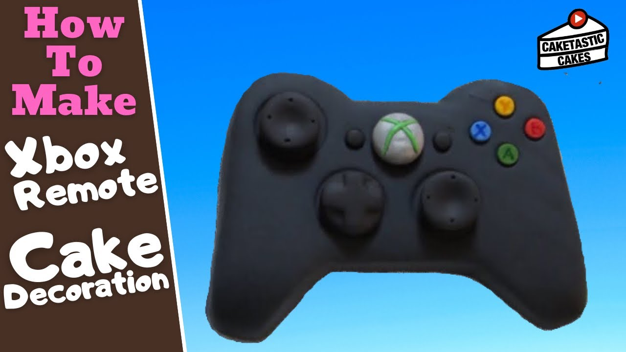 How To Make A XBOX REMOTE CONTROLLER Cake Decoration Topper With
