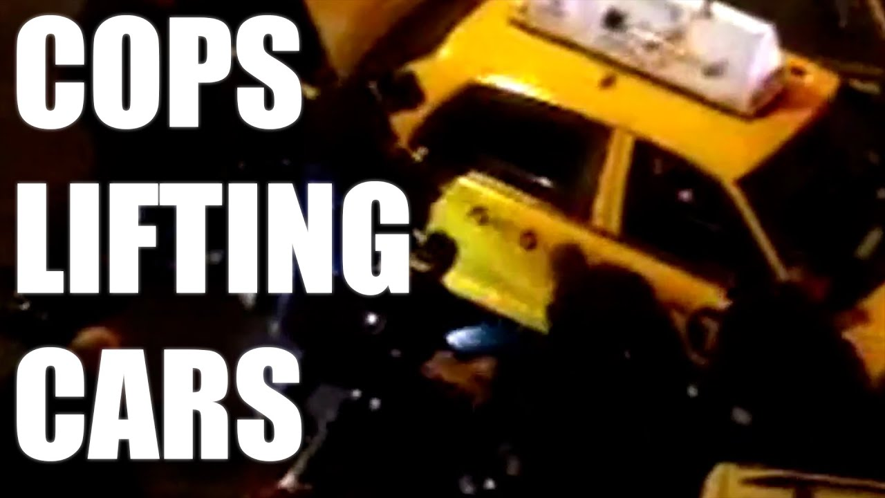 Cops Lifting Cars Off People (Happens More Than We Think)