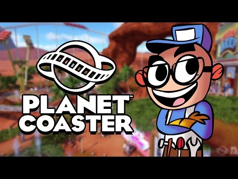 Northernlion Plays - Planet Coaster (Full Release) - Episode 1 [Northernlion's Fun House]