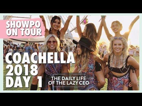 COACHELLA 2018 DAY 1 | Jane Lu Showpo CEO Daily Vlog #48