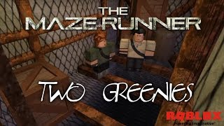 Two Greenies - Episode 1 | The Maze Runner RP Remake | Roblox