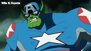 Capitan America vs Skrull ♦ Los Vengadores los Heroes mas Poderosos del Planeta