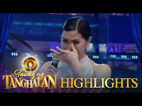 Tawag ng Tanghalan: Mariel cries when Vice talks about motherhood