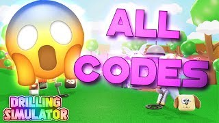 Roblox | Drilling Simulator - ALL CODES! [New codes for Gems & Coins!]