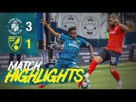 Luton Norwich Goals And Highlights