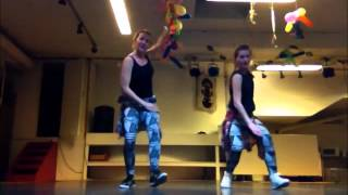 "Swappi ""Tek Wine"" Soca Riddim Fitness Choreo"
