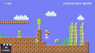 Super Mario Maker - *Mic sound byte* YMCA 60fps