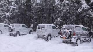 ジムニーで行く最強寒波のスノーアタック thumbnail