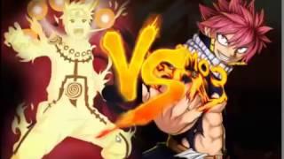 Naruto 9 tails Vs Natsu   Anime Battle 1.6