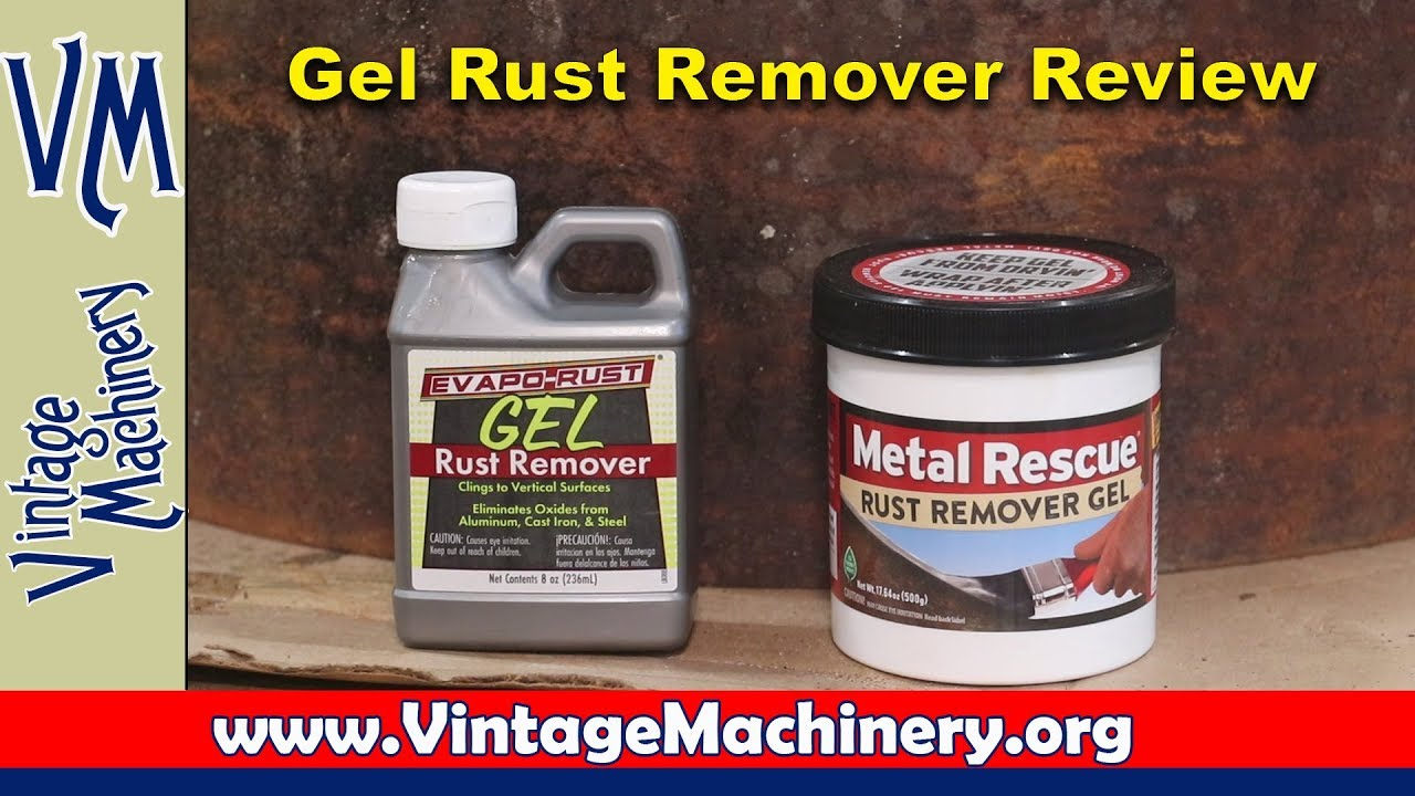 Gel Rust Removers: Evapo-Rust vs Metal Rescue