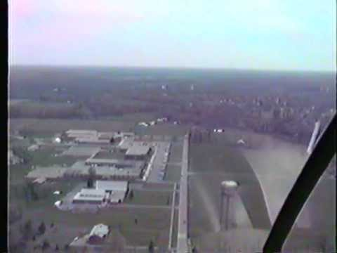 Helicopter tour of Goshen OH 1991 part 2.