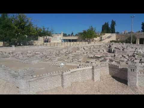 Jerusalem scale model in Jerusalem