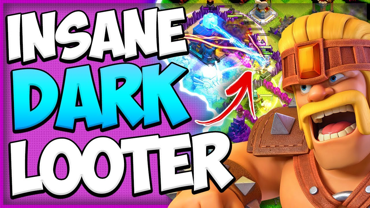 Farm Dark Elixir Fast with Super Barbarians! How to Use Super Troops at TH11 in Clash of Clans