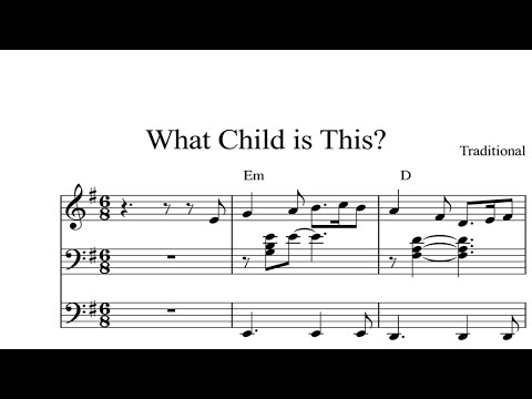 What Child is This?: CHRISTMAS SHEET MUSIC Piano Organ & Keyboard Book 2