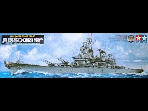 Tamiya 1/350 USS Missouri - Inbox Review