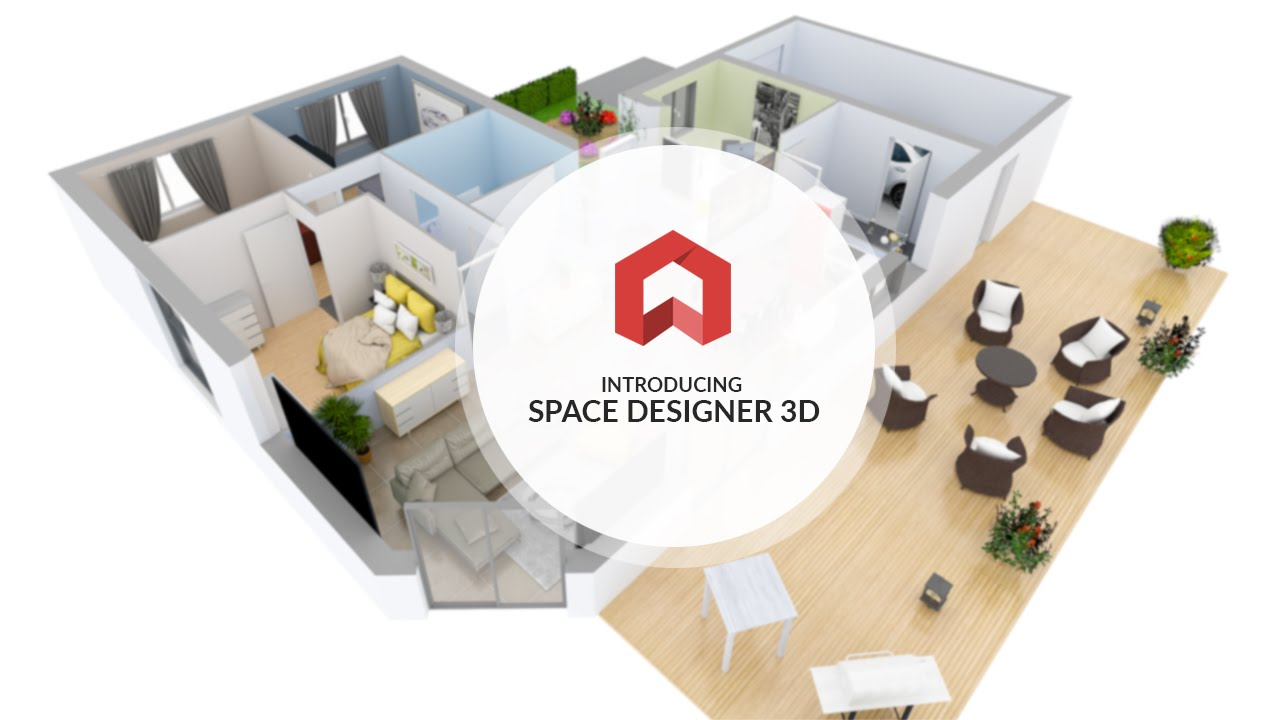 Introducing space designer 3d youtube for Desin 3d