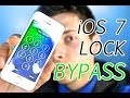 NEW How To Bypass iOS 7 LockScreen Access ANY iPhone Application