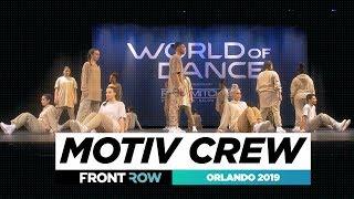 Motiv Crew | FRONTROW | World of Dance Orlando 2019 | #WODFL19