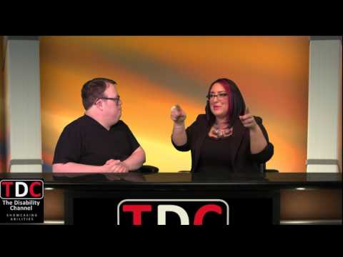 The Disability Channel  Keepin' It Real W Nick  Guest; Founder of Dramaway Danielle Strnad