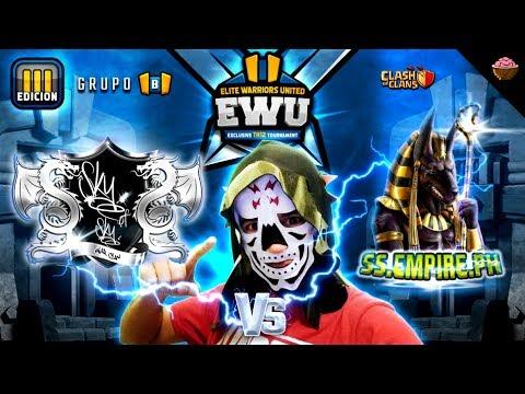 """EWU Fase de Grupos """"Sky of Sky vs SS.EMPIRE.PH"""" Elite Warriors United"""