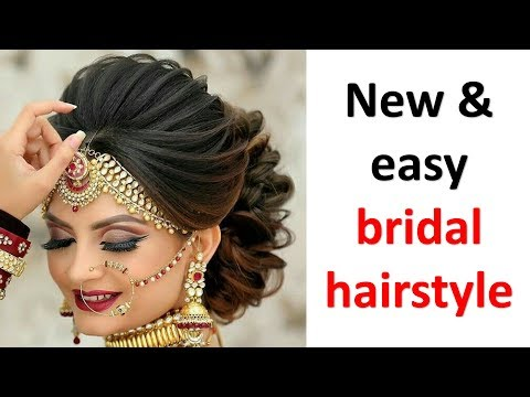 beautiful-hairstyle-for-bridal-||-wedding-hairstyle-||-new-hairstyle-||-easy-hairstyles