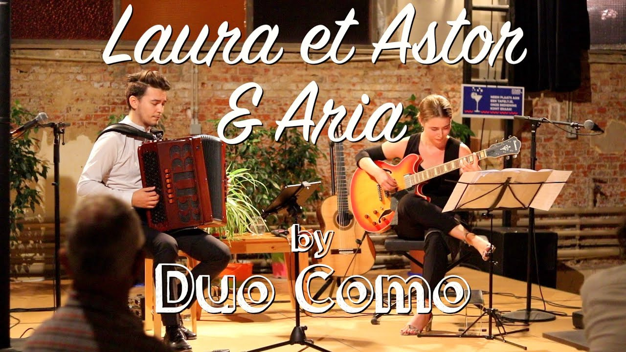 Richard Galliano - Laura et Astor & Aria LIVE