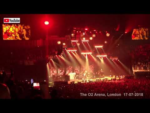 Pearl Jam live - Alive (4K) The O2 Arena, London   17-07-2018