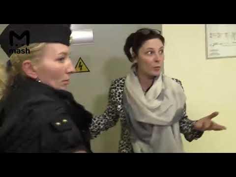 Лидию Вележеву ведут на медосвидетельствование. Видео Https://t.me/breakingmash
