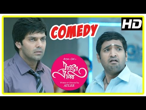 Raja Rani Tamil Movie Comedy Scenes | Part 1 | Arya | Santha