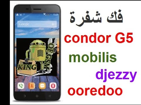 فلاشة لفك شفرة كوندور g5 الخاض بأوريدو لقراءة كل الشبكات و بشعار كوندور.