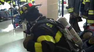 Smithtown Fire Department Probationary Training SCBA 10/25/09