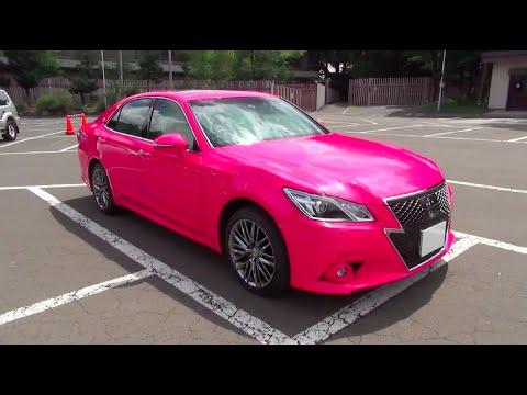 2014 トヨタ クラウン アスリート 2 5アスリート G I Four Reborn Pink 内外装