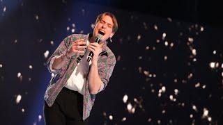 Simon Karlsson sjunger Skinny Love av Bon Iver i Idols kvalvecka 2020 - Idol Sverige (TV4)