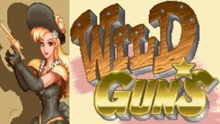 Wild Guns Annie SNES