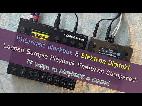 Digitakt + Blackbox ⟿ 19 Ways to Playback a Sample