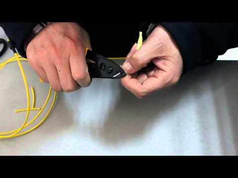 remove optic fiber 900um tight buffer
