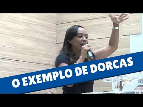 Missionaria Isa Reis - O exemplo de Dorcas - Pregação Isa Reis