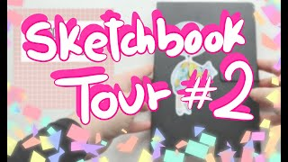 SKETCHBOOK TOUR #2 - Witchtober, manga/anime and all the Pinterest girls
