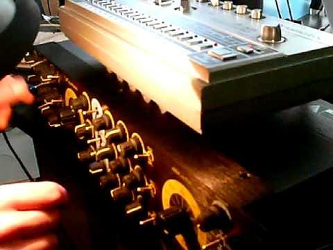 Schippmann Ebbe und Flut, sync triggered by Tr 606