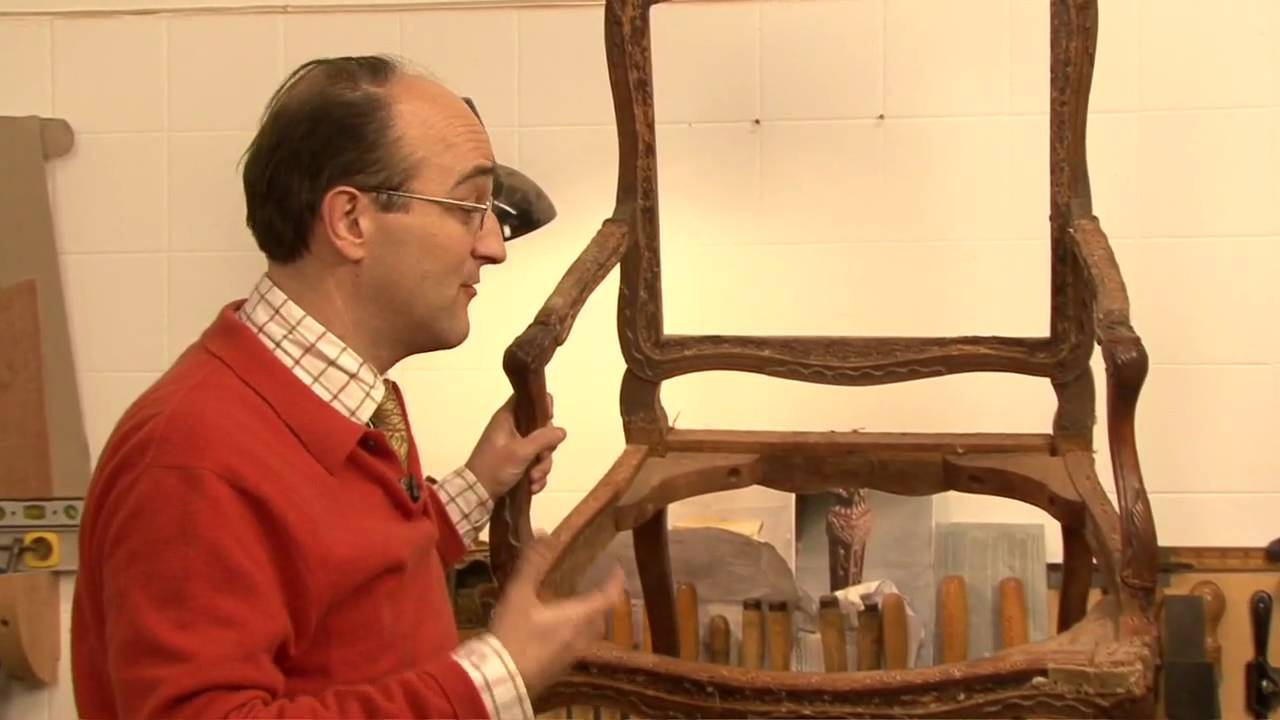 Establishing The Age Of An Antique Chair - YouTube