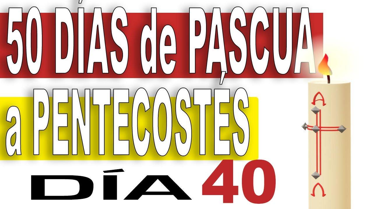 ✴️ Día 40 | 50 Días de CAMINO de PASCUA A PENTECOSTÉS 🔥 Volveré a veros