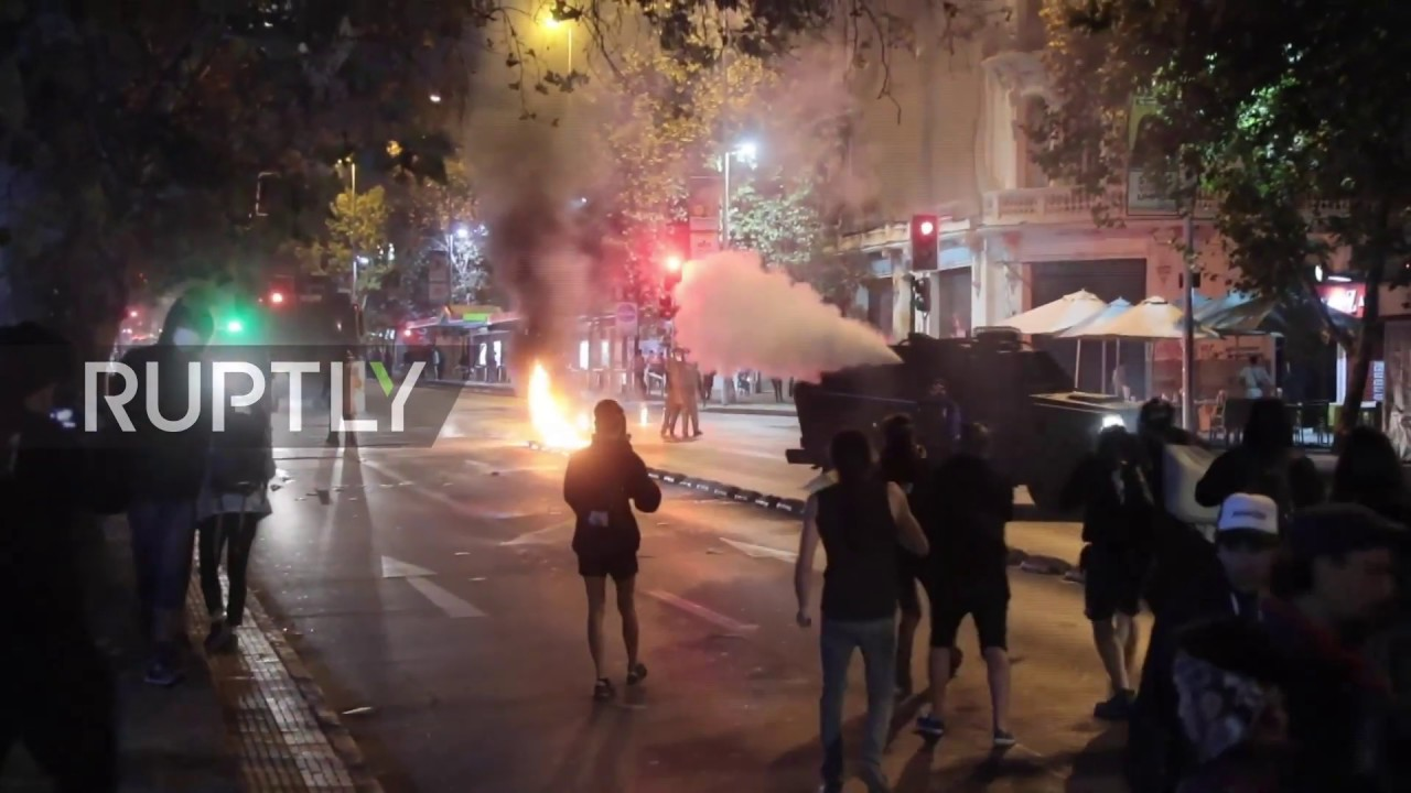 Chile: Chaos hits Santiago as police disperse Mapuche protest