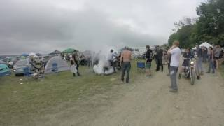 strange days 6 at the Ricky farm . motorcycles and burnouts