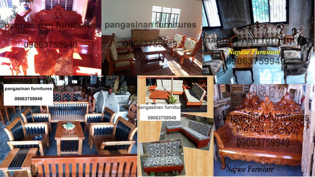 Quality Wood Furnitures In Pangasinan Philippines Youtube
